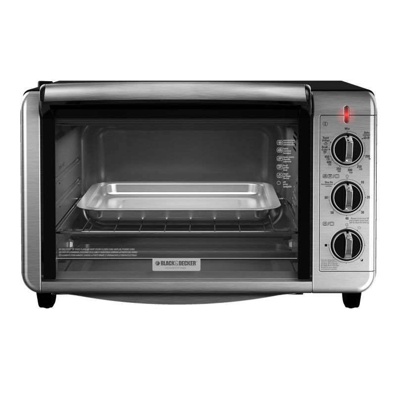 Black & Decker Dining In Countertop Convection Oven, Multicolor thumbnail